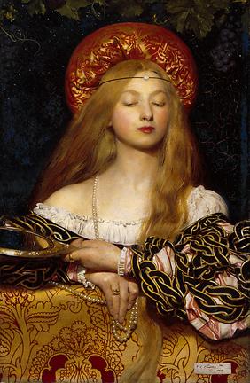 Pre Raphael art